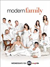 Modern Family - White Portrait TV Poster