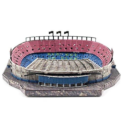 Mini 2018 Russia World Souvenirs Camp NOU Stadium Puzzle 3D Modelo Fan Recuerdos del fútbol Hace un Gran Recuerdo