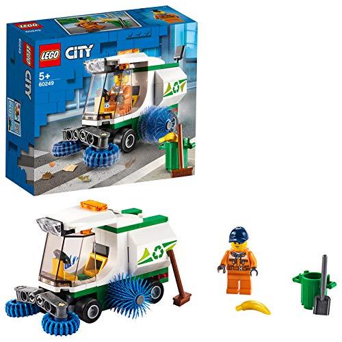 LEGO City Great Vehicles - Barredora Urbana, Juguete de Construcción desde 5 Años, con una Minifigura de Conductor para el Camión, Juguete Ciudad de Lego (60249)