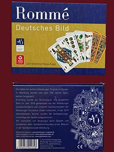 Altenburger Spielkartenladen Rommé, Deutsches Bild