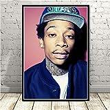 JIUJIUJIU Rapper Hip Hop Musik Star Sänger Wiz Khalifa