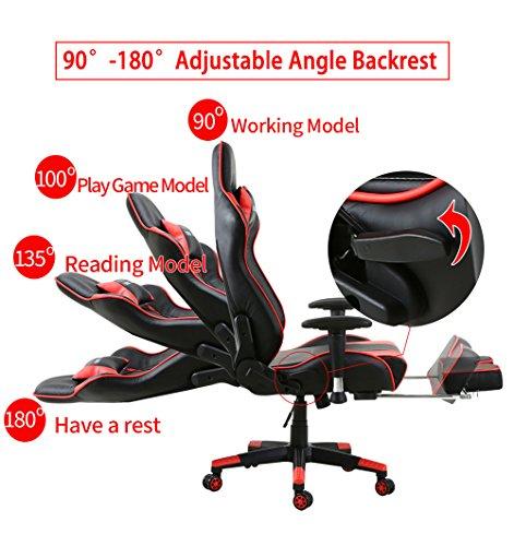 Gaming Stuhl Racing Sessel Bürostuhl Bild 3*