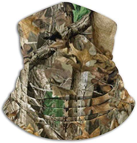 Camouflage, jacht, nekbescherming, tube ear, warmer hoofdband, sjaal, gezichtsmasker, bivakmuts, voor mannen en vrouwen