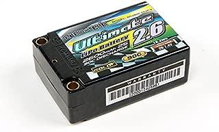 Turnigy Nano-tech Ultimate 2600mah 2S2P 90C Hardcase Lipo Super Shorty Pack