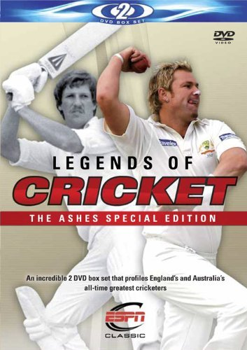 Legends Of Cricket - Ashes Special Edition [DVD] [2009] [Reino Unido]
