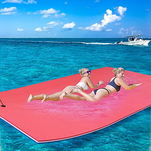 Floating Water Mat Pad, 3-Layer Floating Mat Foam for Fun Water Party Water...