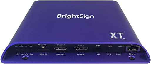 BrightSign XT1143 | 4K Dual Video Decode Expanded I/O Player