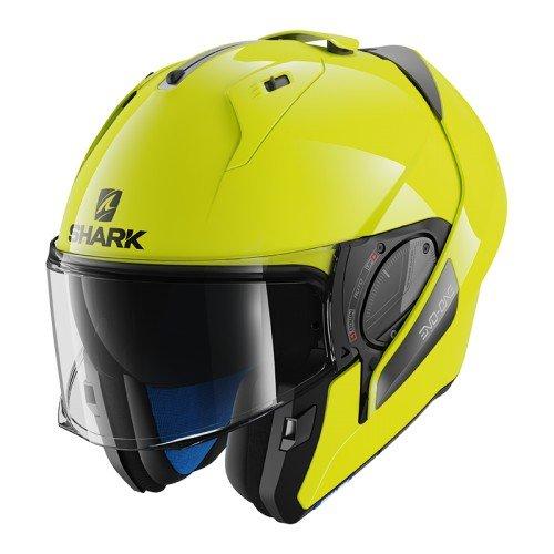 Shark casco Moto evo-one 2hi-visibility Yky, amarillo, talla M