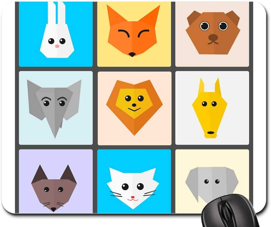 Mouse Max 82% OFF Pad - Animals Cute Pet Cat Zoo Flat Ultra-Cheap Deals Funny