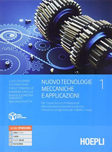 Nuovo tecnologie meccaniche e applicazioni, vol. 1