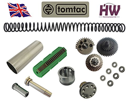 Airsoft AEG V2 Gearbox Full Tune UP Upgrade Kit Set FOR M4 M16 CNC Metal High