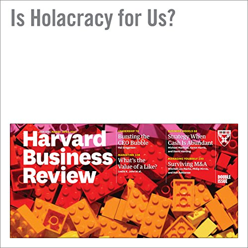 Is Holacracy for Us? audiobook cover art