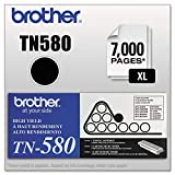 BRTTN580 - Brother Black High Yield Toner Cartridge