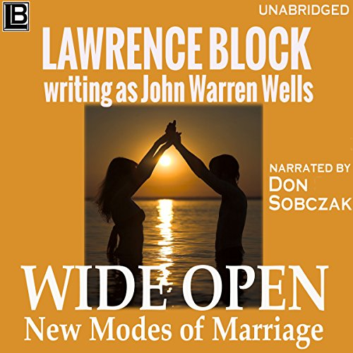 Wide Open audiobook cover art