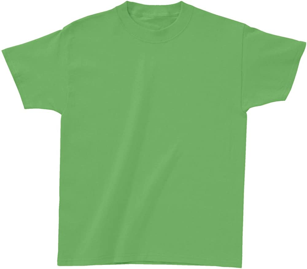 Hanes Authentic TAGLESS Kids' Cotton T-Shirt TAGLESS 6.1, S-Lime
