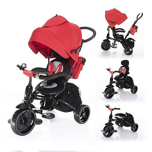 Zopa Citi Trike Chilli Red - Triciclo infantil