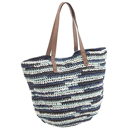 Chiemsee Sports & Travel Bags Straw Beach Bag 56 cm Dark Denim