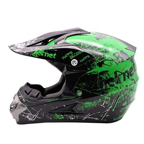 ABS Motorradhelm Classic Fahrrad MTB DH Racing Helm Motocross Downhill Fahrradhelm Goggle Motocross Helme Damen