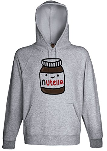 FunnyWear Nutella Lover Hoodie Custom Made Hooded Sweatshirt (S)