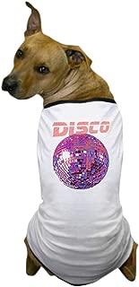CafePress Pink Disco Ball Dog T Shirt Dog T-Shirt