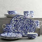 Puebla 16 Piece Dinnerware Set | Pottery Barn