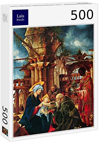 Lais Puzzle Albrecht Altdorfer - La Adoración de los Reyes Magos 500 Piezas