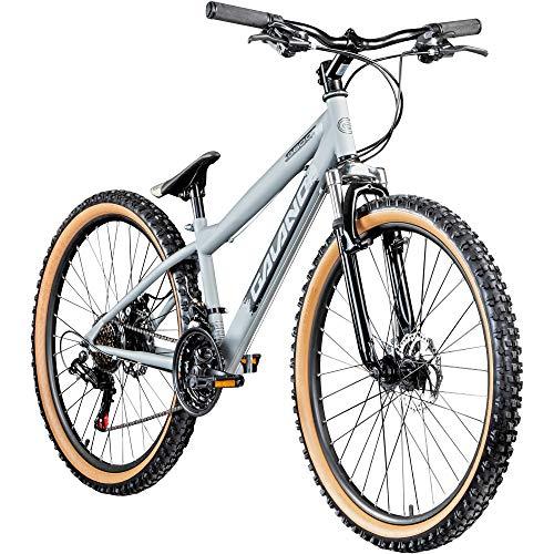 Galano Dirtbike 26 Zoll MTB G600 Mountainbike Fahrrad 18 Gang Dirt Bike Rad (Silbergrau/schwarz, 33 cm)