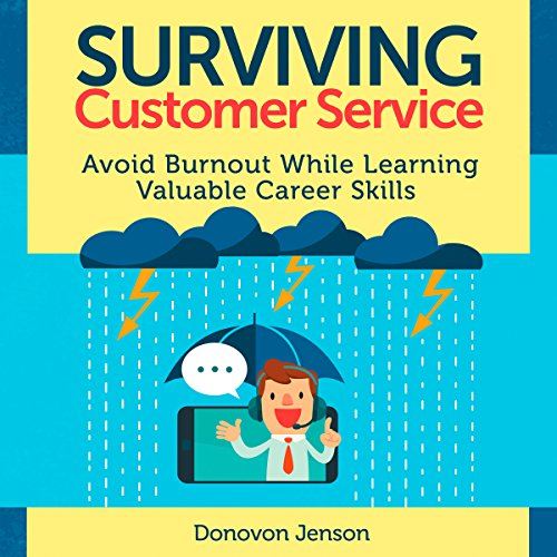 Surviving Customer Service audiobook cover art