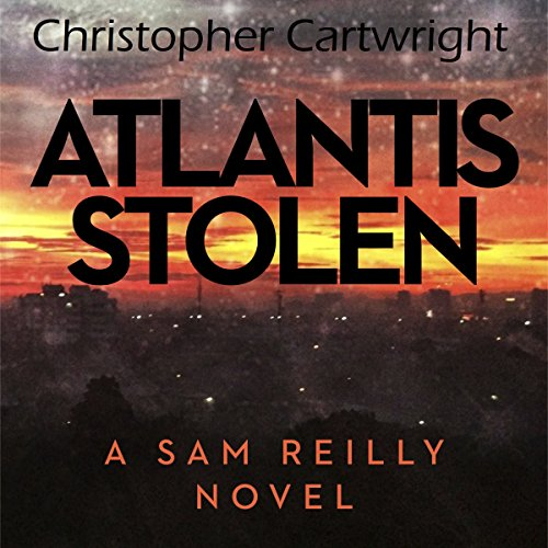 Atlantis Stolen audiobook cover art