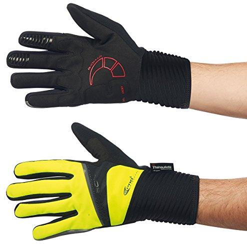 Northwave Mtb Handschuhe Sonic Full Schwarz-Rot (Large , Rot)