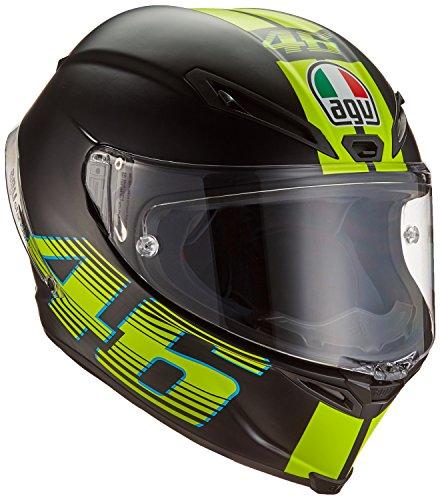 AGV Motorradhelm Corsa R E2205 Top PLK, V46 Matt Schwarz, Größe L