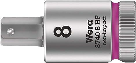 Wera 05003039001 8740 B HF Zyklop Bit Socket, 3-8, HF, 8.0 x 38.5 mm