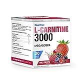 Quamtrax L-Carnitine 3000 Sabor Frutos del Bosque - 20 viales x 25ml