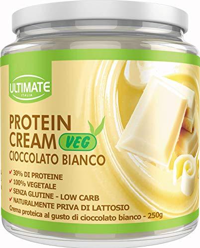 Ultimate Italia VEGCRECB Crema proteica Vegana - 1 Confezione da 0.25 kg