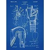 Adamson Bagpipe Scotland Music Instrument 1941 Patent Plan