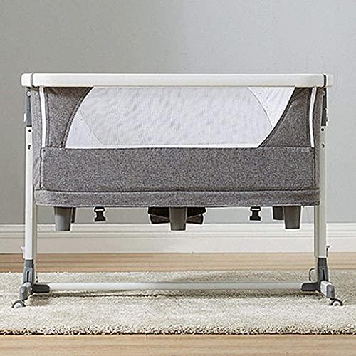 COT BED DUVET TRAVEL COP COB CIRB Newborns Sway Baby Baby Swing Baby Ropa de cama para el niño recién nacido con accesorios Bolsa Mattrestres (Color : Blanco)