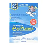 New Super Soft Adult EarPlanes Ear Plugs Airplane Travel Ear Protection 3 Pair
