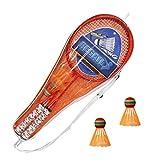 tackjoke Gioco di Racchetta da Badminton per Bambini Gioco di Combattimento con Racchetta a Due Sfere Gratuito per Lo Sport all'aperto