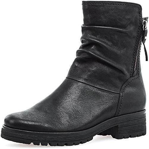 Gabor Damesschoenen 72.092 dameslaarsjes, laarzen, comfortabele extra breedte, met ritssluiting, met Optifit-wisselvoetbed.