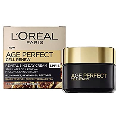 L'Oreal Paris Age Perfect Cell Renew Revitalising Day Cream SPF 15 for Mature Skin 50 ml by Loreal
