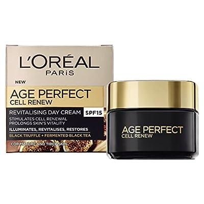 L'Oreal Paris Age Perfect Cell Renew Revitalising Day Cream SPF 15 for Mature Skin 50 ml