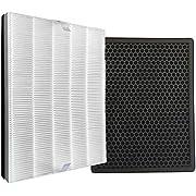 Comedes Ersatzfilterset für Philips AC2889, AC2887, AC2882 und AC3829/10 Luftreiniger | HEPA und Aktivkohle-Filter | einsetzbar statt Philips FY2422/30 und FY2420/30