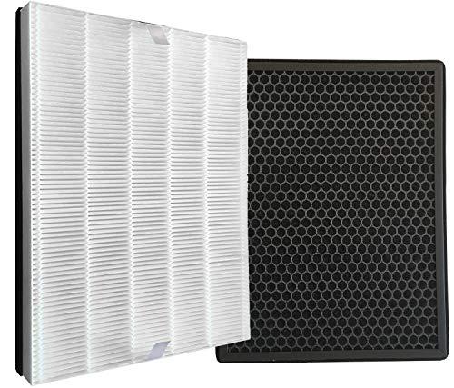 Comedes Repuesto set de filtros de Philips purificadores de aire AC2889, AC2887, AC2882 y AC3829/10 | HEPA y filtro de carbón activado | utilizable en lugar de los Philips FY2422/30 y FY2420/30