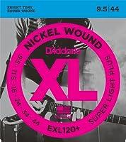 【 並行輸入品 】 D'Addario (ダダリオ) EXL120+ Nickel Wound エレキギター 弦, Super Light Plus, .0095-.044