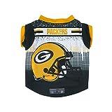 NFLグリーンベイパッカーズペットパフォーマンスTシャツ、Xsm