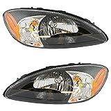 Front Headlights Headlamps Lights Pair Set for 03 Ford Taurus Centennial Edition