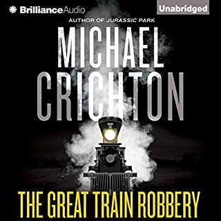 The Great Train Robbery audiobook cover art