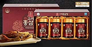 Korean 6 Years Red Ginseng Extract Royal Gold (250g x 4 Bottles) [Produced and Shipped from South Korea with Latest Expiration Dates]