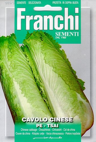 Seeds of Italy Franchi Chou chinois