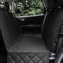 Honest Dog Car Seat Covers with Side Flap, Pet Backseat Cover for Cars, Trucks, and Suv's - Waterproof & Nonslip Luxury(Quilted)